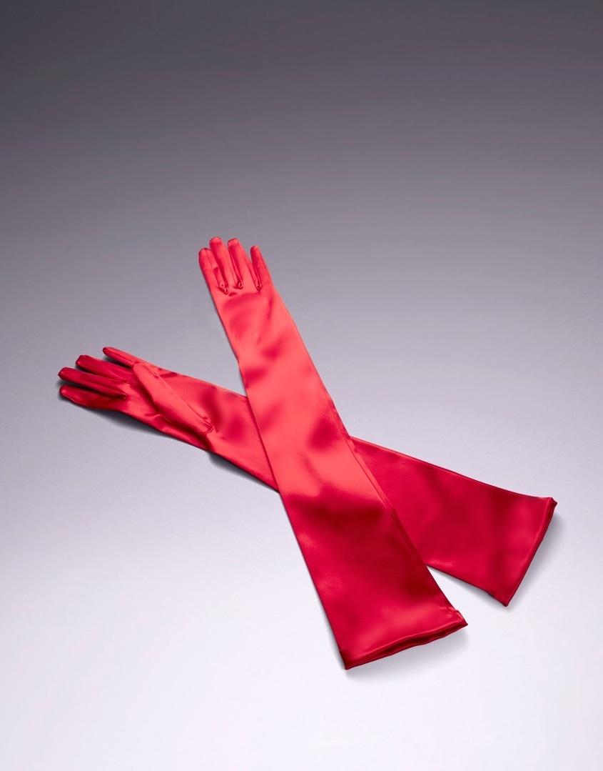Перчатки Long Satin от Agent Provocateur